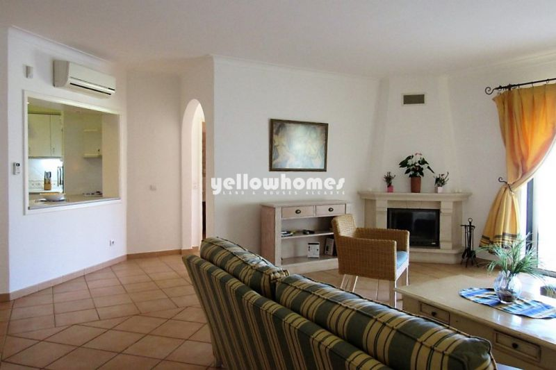 Elegant 3-bed apartment in a prestigious golf resort near Carvoeiro